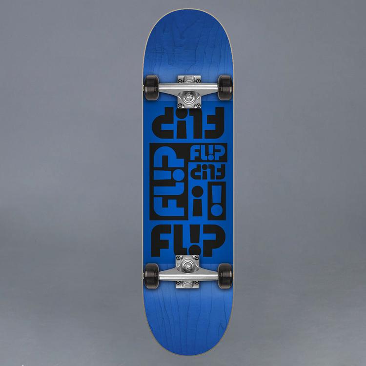 "Flip Odyssey Blue Komplett Skateboard 7.75"""