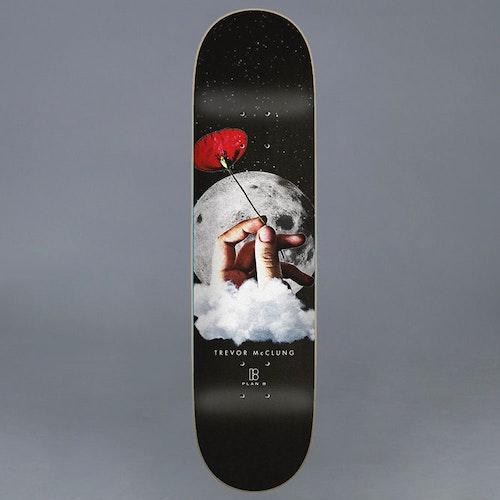 "Plan B Moon Shot Skateboard Deck 8.125"""