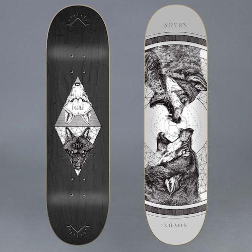 Sovrn Geri & Freki 8.25 Skateboard Deck