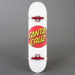 "Santa Cruz Custom 8"" Wht Komplett Skateboard"