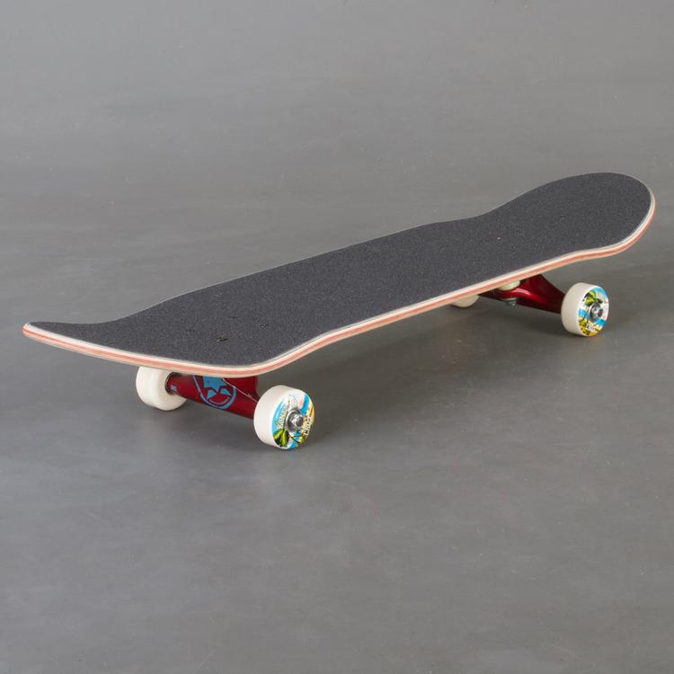 "Santa Cruz Custom Wht Komplett Skateboard 8"""
