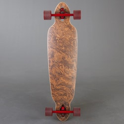 "Urskog Stubbe Walnut Burl 37.4"" Longboard Komplett"