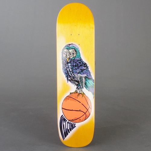 "Welcome Hooter Shooter 8"" Yell Skateboard Deck"