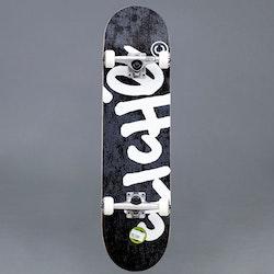 "Cliché Handwritten Black Komplett Skateboard 7"""
