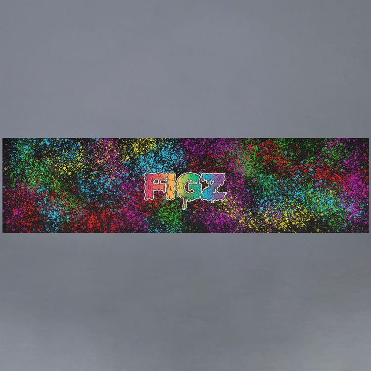 Figz XL Rainbow Drip kickbike Griptape