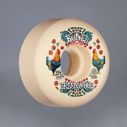 Bones STF Greenwood v5 52mm 99a Skateboard Hjul