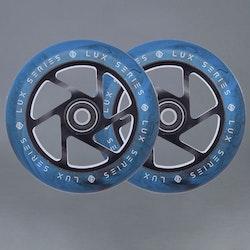 Striker Lux 110mm 2-pack Blue / Black Sparkcykel Hjul