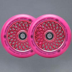 Root Lotus Radiant Pink 110mm Kickbike hjul 2-pack