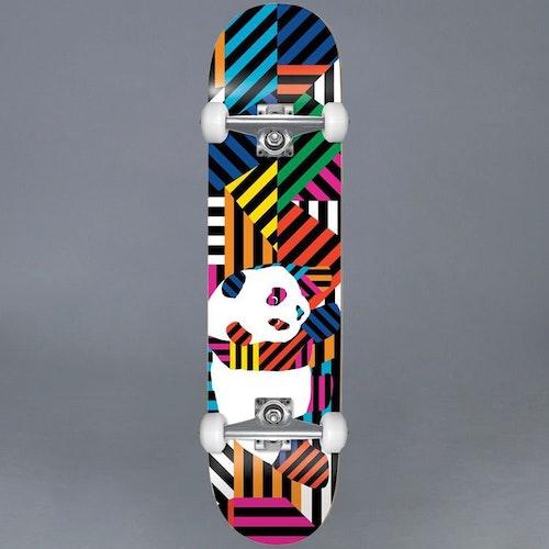 """Enjoi Panda Stripes Resin Komplett Skateboard 7.75"""""""