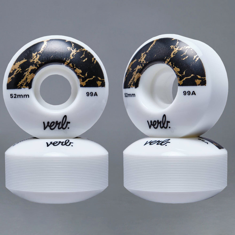Verb Dip Marble Black 52mm 99A Skateboard Hjul