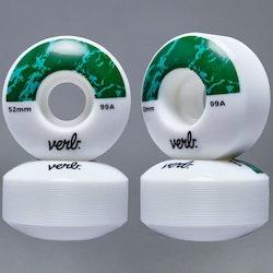 Verb Dip Marble Green 52mm 99A Skateboard Hjul
