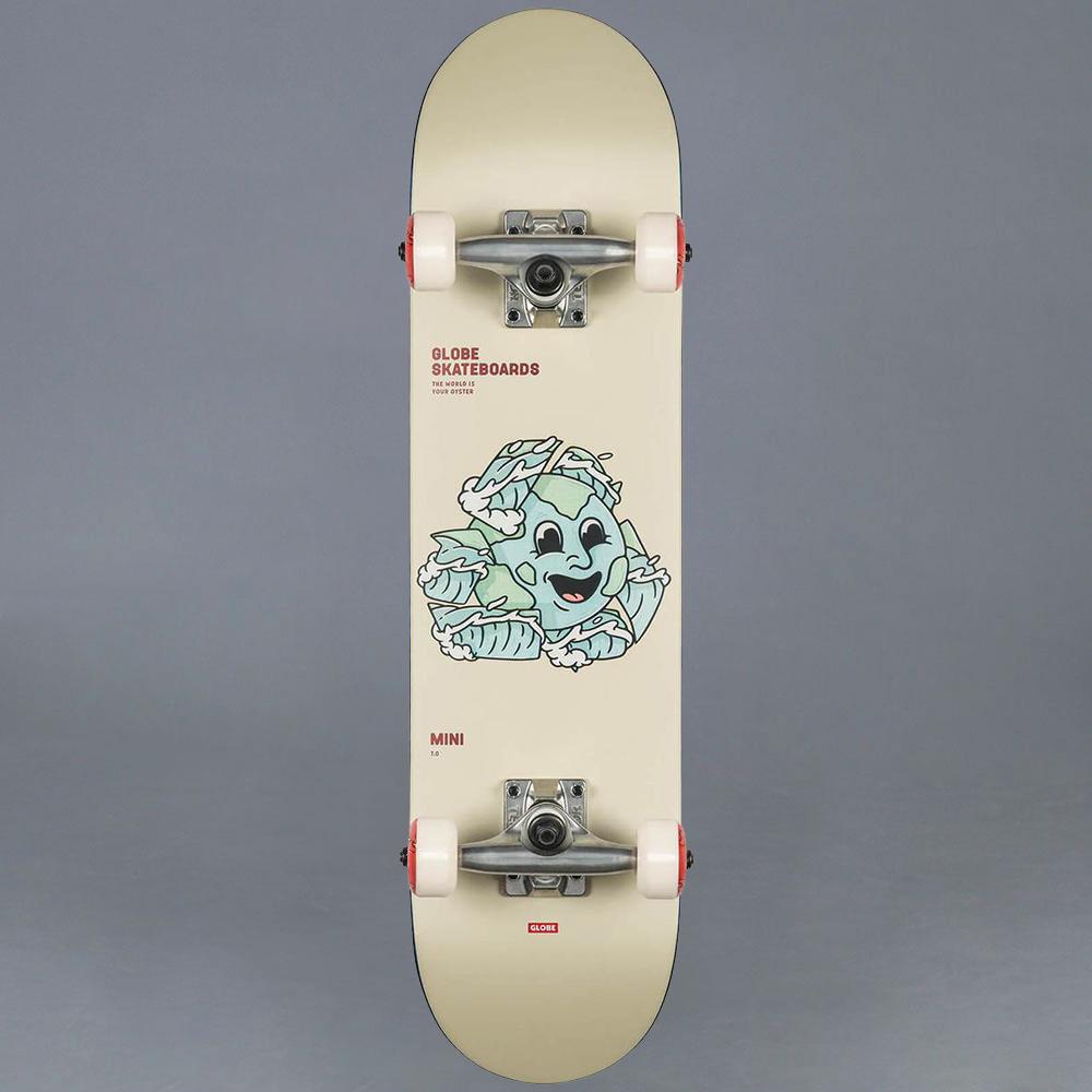 "Globe Environmentalist mini Komplett Skateboard 7.0"""