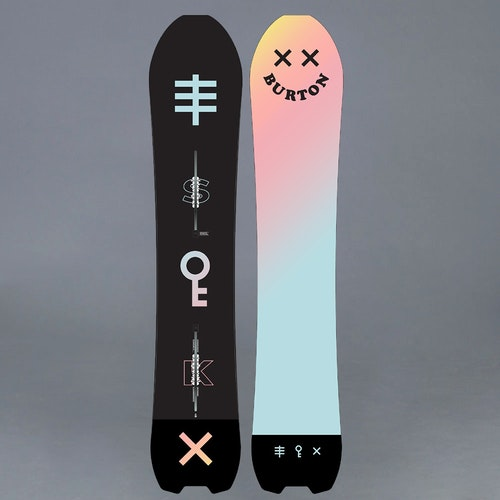 Burton Skeleton Key 158 Snowboard Bräda
