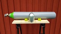 Trycklufttub 300bar10 Liters