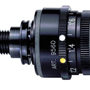 Anschutz Iris aperture 9560 med 5 färgs filter