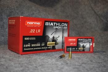 NORMA BIATHLON SPORT .22lr 50st (1,50 kr/st)