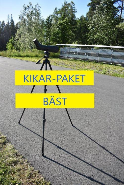 "Tubkikarepaket ""Vortex Viper HD 20-60x85 & Vortex High Country Tripod kit"""