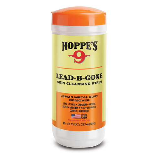 HOPPE'S LEAD-B-GONE HAND WIPES