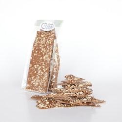 Chokladbräck Saltrostad mandel