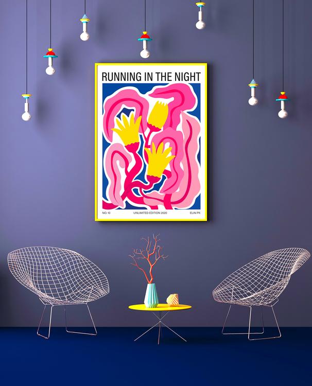 """Running in the night"""