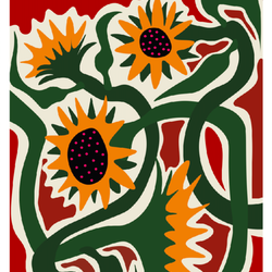 """""""Sunflowers on a summer evening"""""""