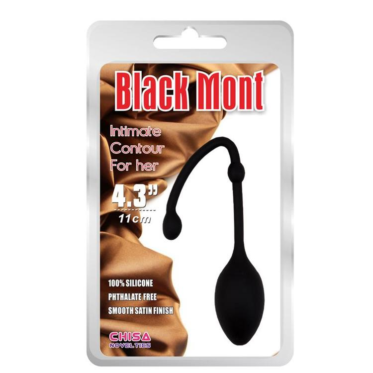 CHISA VAGINAL BALL KISS IORGASM SILICONE BLACK