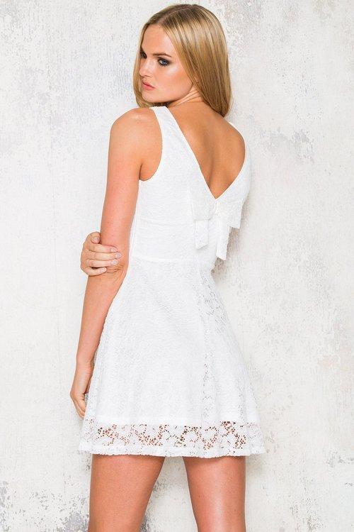 Vit klänning - Thelma