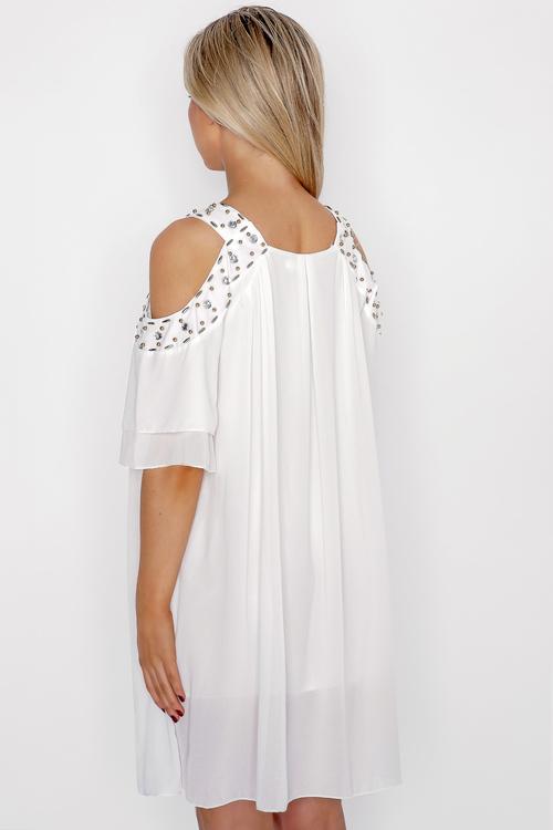 Vit klänning - Emma