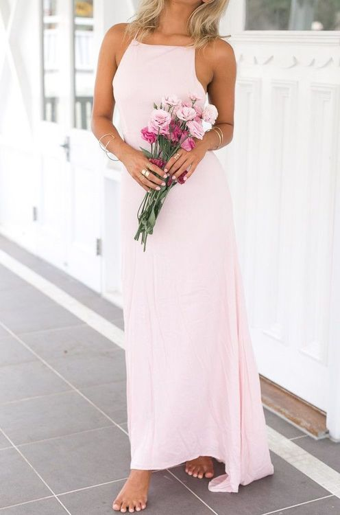 Forever Maxi Dress - Pink