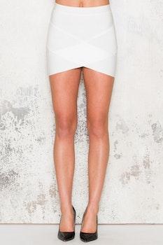 Bandage Skirt - White