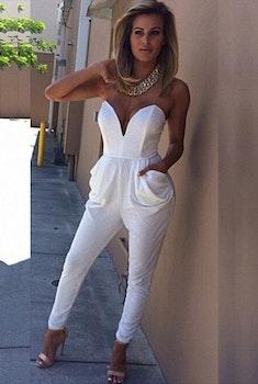 Sheri Jumpsuit - White