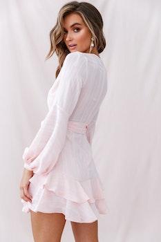 Rosa klänning - Vibe