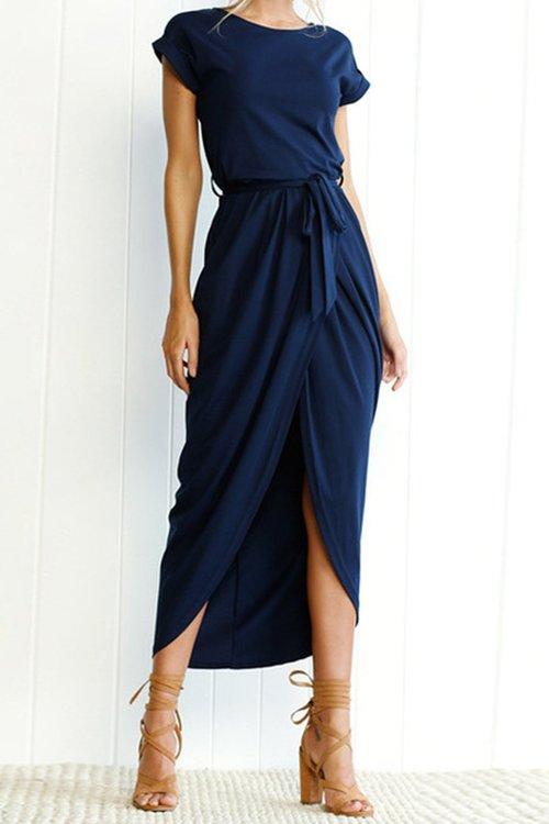 Kehlani Dress - Dark Blue