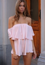 Macy Playsuit - Pink
