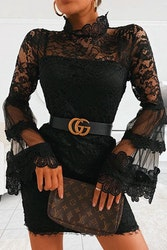 Black Lace Dress - Miriam
