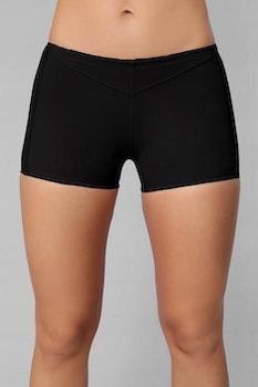 Butt Lifter Boy Shorts - Black