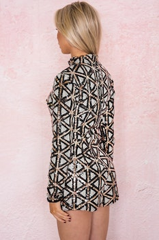 Checkers Playsuit