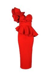 Adele Dress - Röd