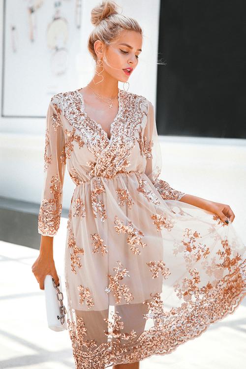 Rising Sun Dress