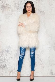 Cruella Jacket White