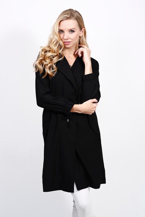 Milla Trench Coat - Black