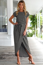 Kehlani Dress - Dark Grey