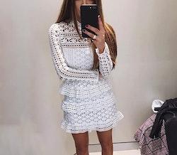 Vintage Dress - White