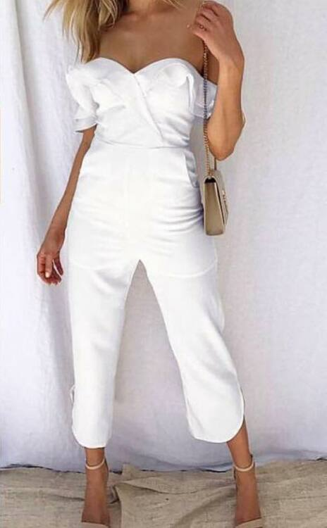 Everyday Jumpsuit - White