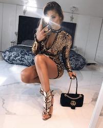 Golden Globe Dress