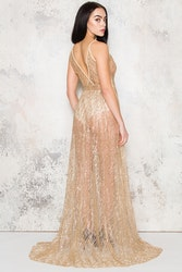 Babe Maxi Dress - Gold