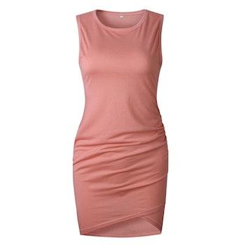 Cassandra Dress - Peach
