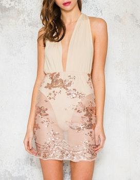 Irreplaceable Dress - Beige