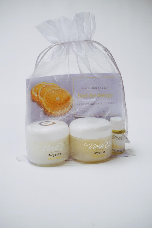 SPA-kit Citrus Viridi Eco