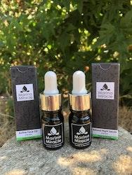 Face Oil och Night serum för män, från Marina Miracle